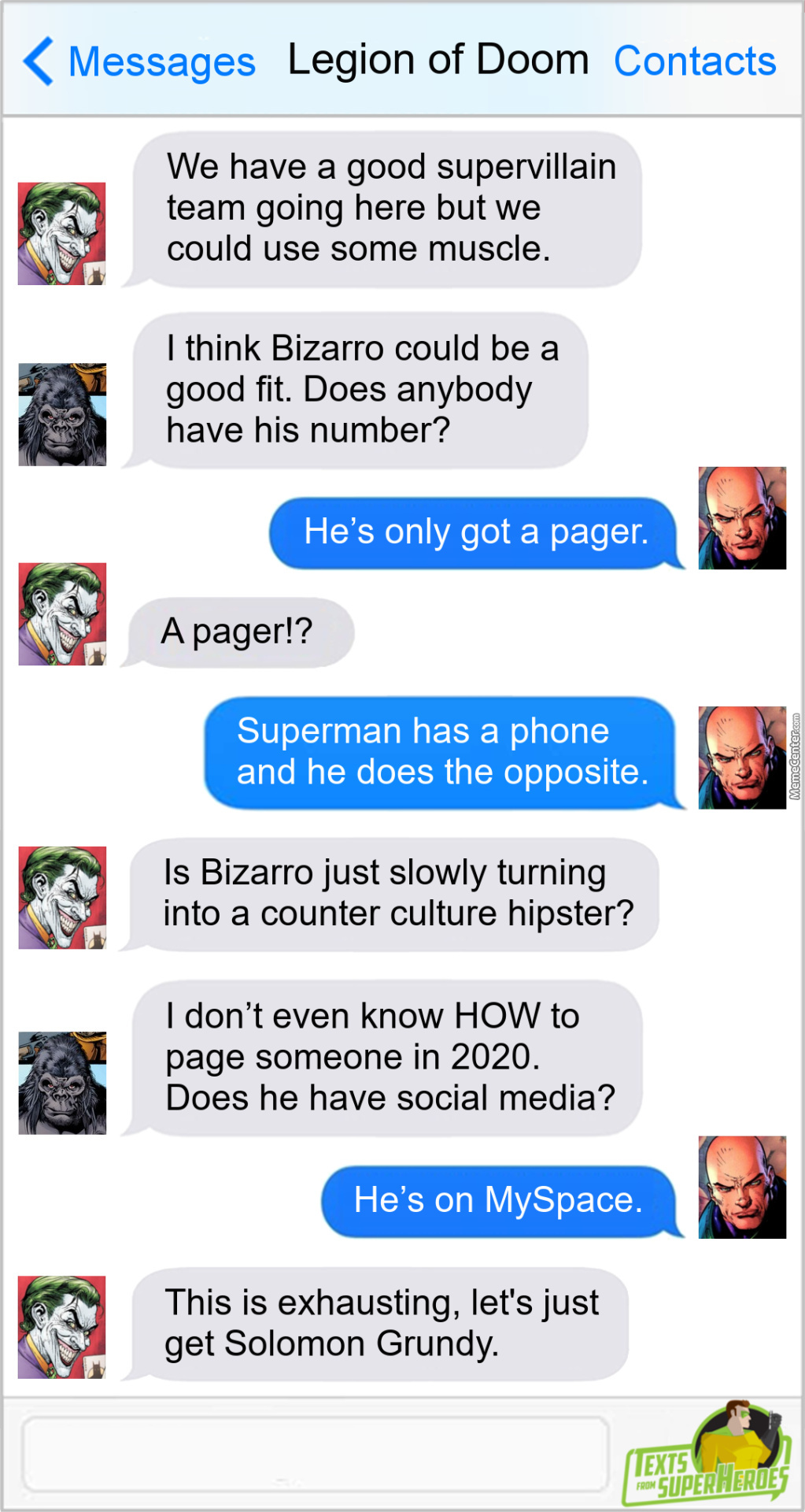 Hipster Bizarro - I'd Go See That Movie