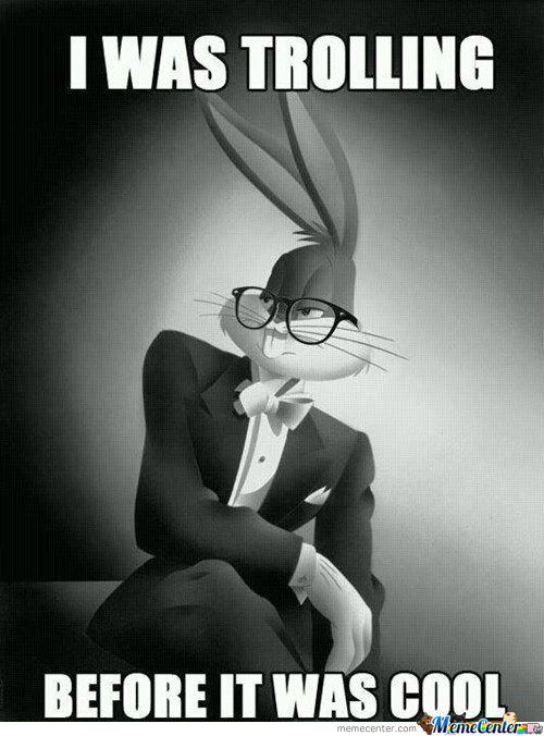 Hipster Bugs Bunny