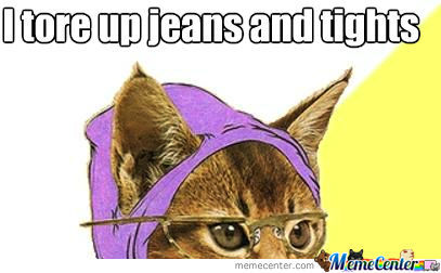 Hipster Cat Is Too Hipster For You