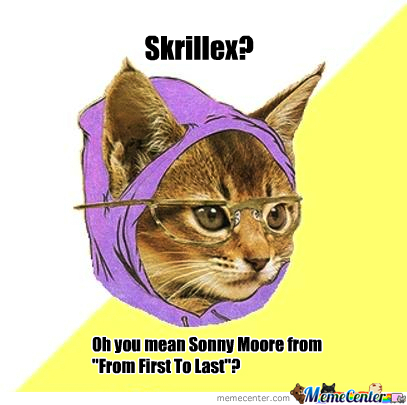 Hipster Kitty Don't Like Dubstep