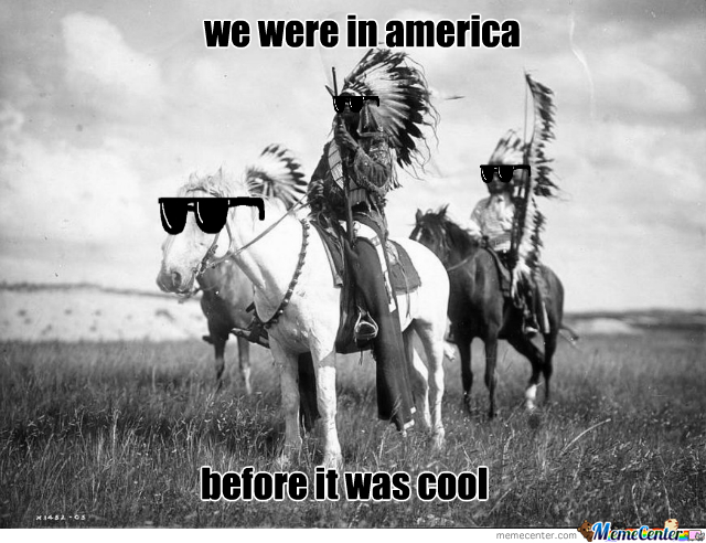 Hipster Native Americans