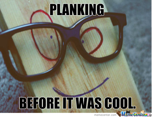 Hipster Plank