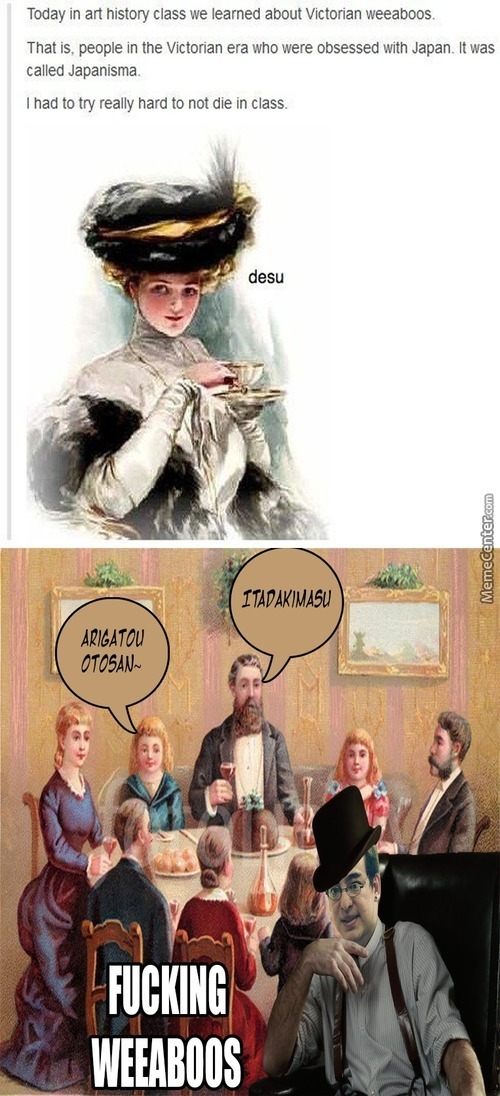 Hipster Victorian Weeaboos