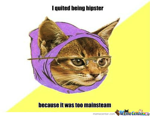 Hipsters Nowadays