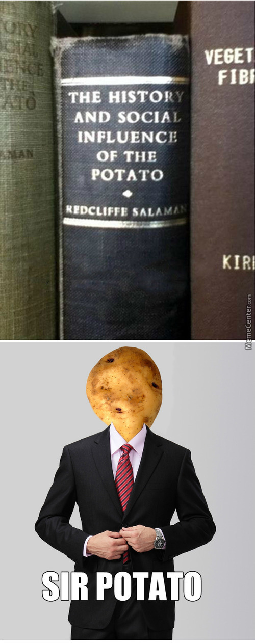 His Excellency Lord Potato