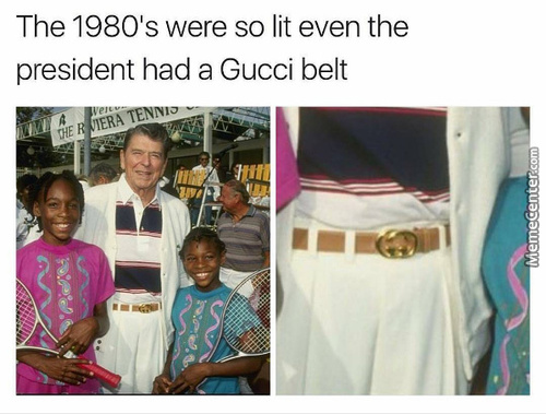 His Shades Were Gucci Too