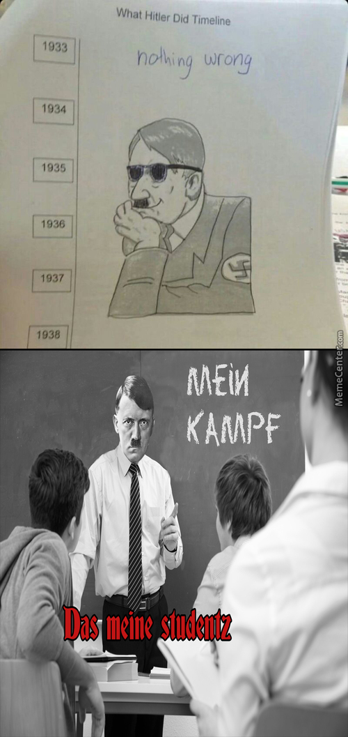 Hitler's Propaganda Game On Point