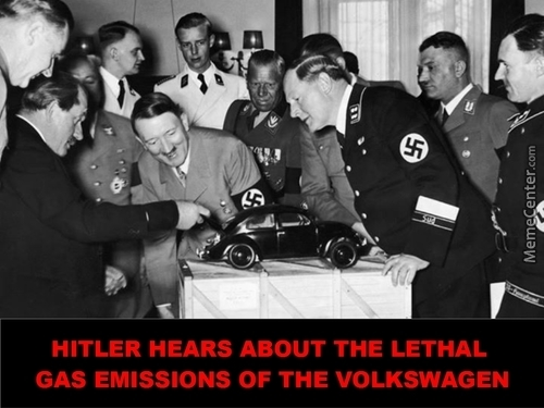 Hitler Hears About The Lethal Gas Emissions Of The Volkswagen