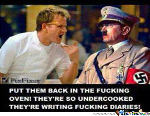 Hitlers Appears In Hells Kitchen