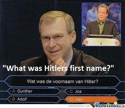 Hitlers First Name