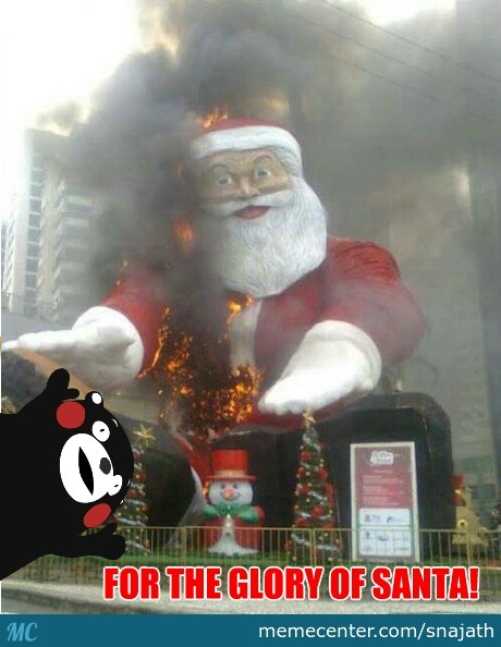 Ho Ho Oh My God!