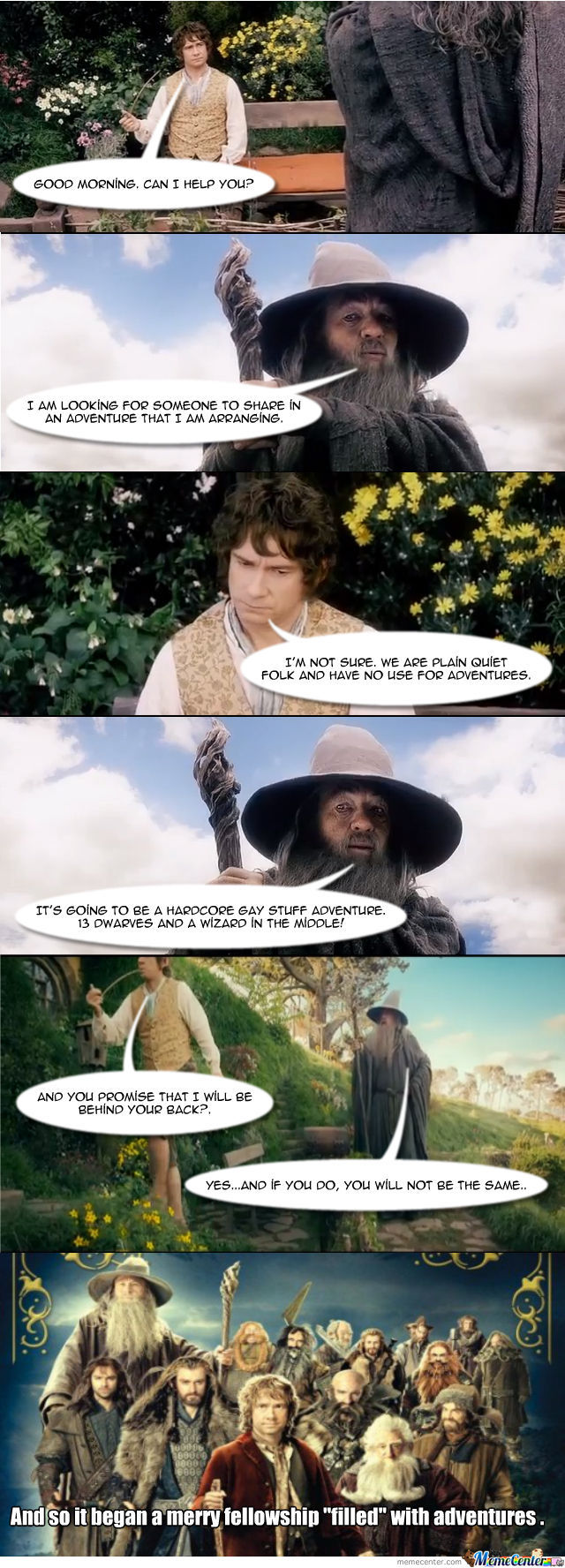 Hobbit- A Gay's Iterpretation