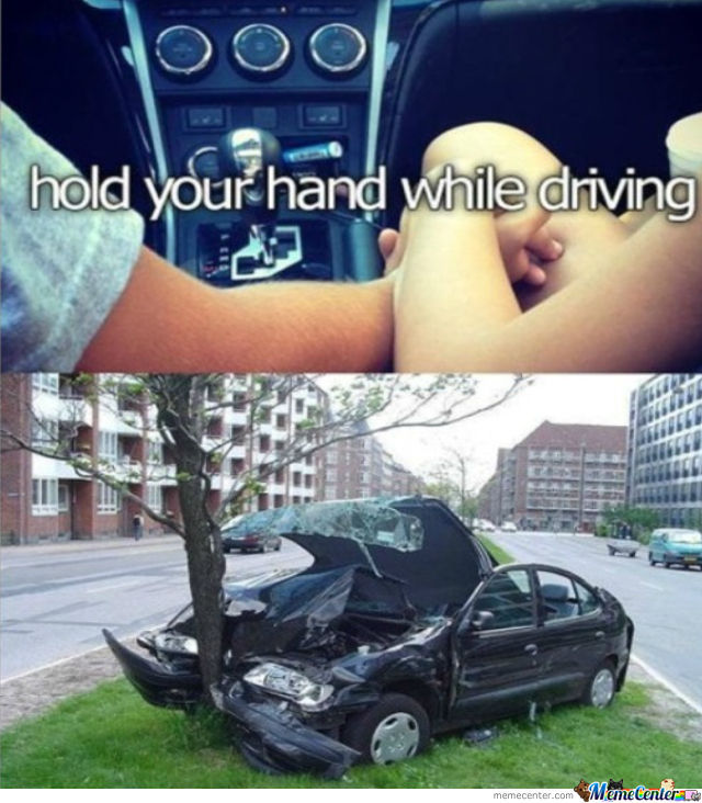 Hold Your Hand While Driving