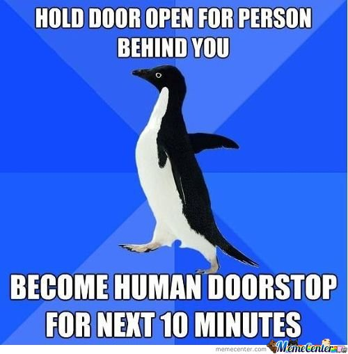how to hold a door for planing