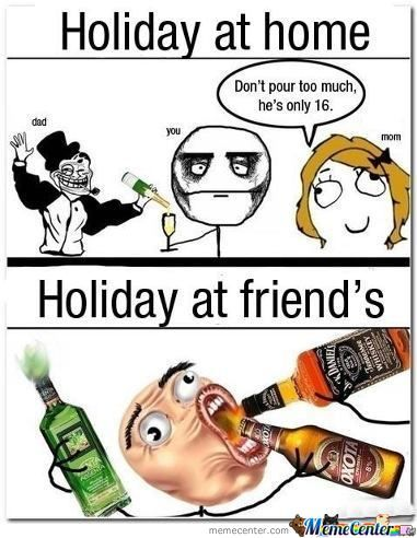 Holiday With Family Vs Friend