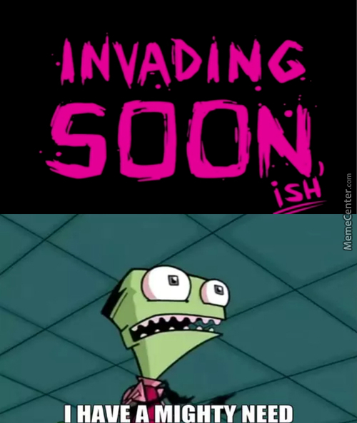 Holy Sh*t Invader Zim Is Coming Back!