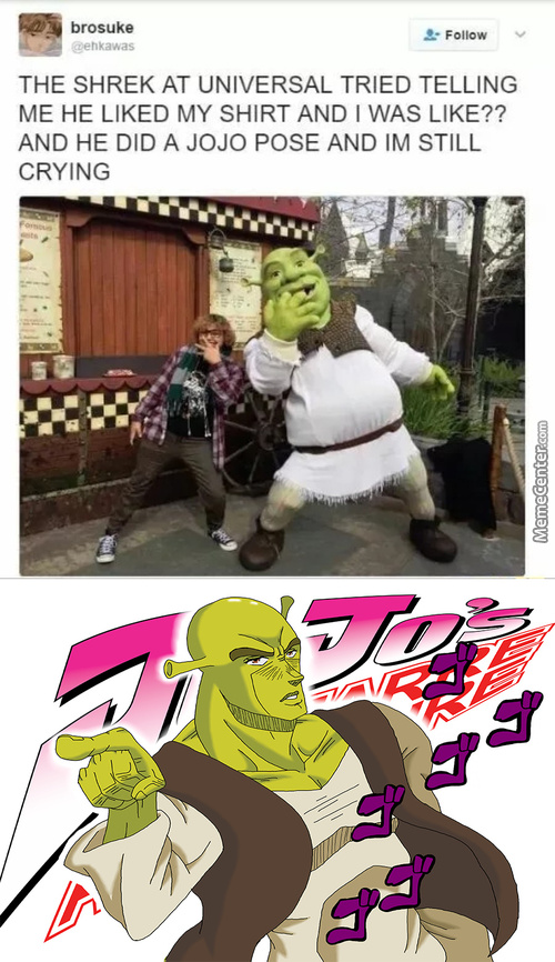 Holy Shit Is That A Mother Fucking Ogre Reference ????!!!!1111!!