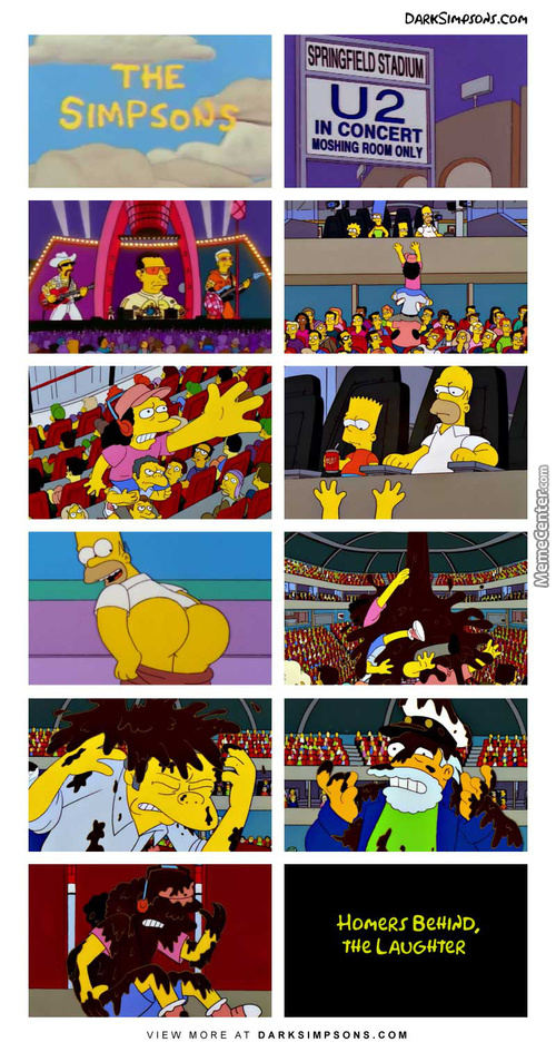 Homer's Behind, The Laughter
