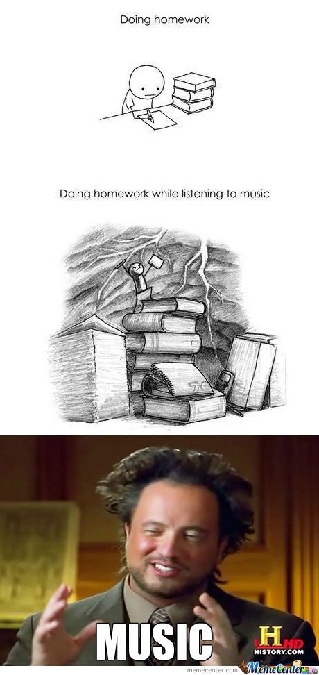 Homeworks & Music