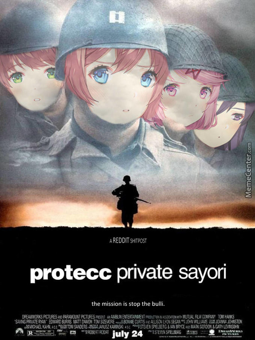 Honestly Id Rather Protecc Natsuki