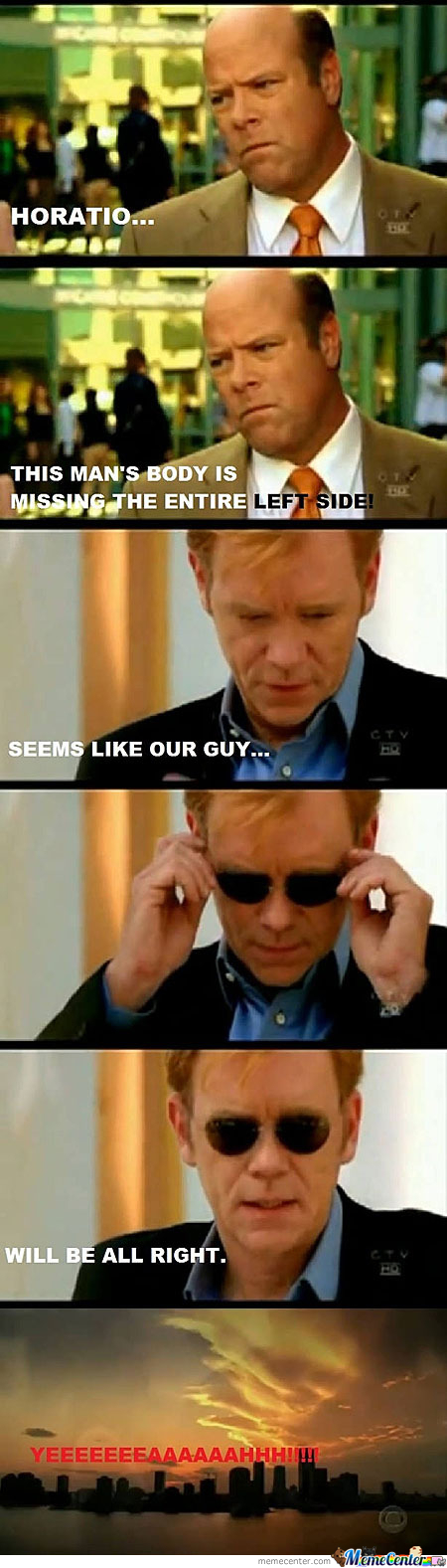 Horatio Memes. Best Collection of Funny Horatio Pictures