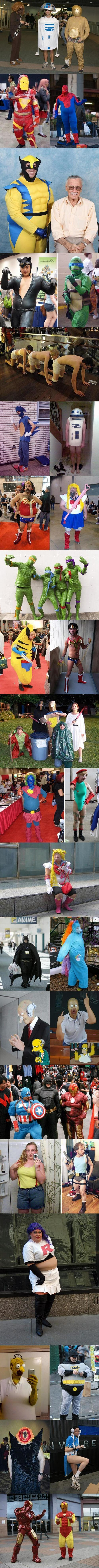 Horrible Cosplay Fails