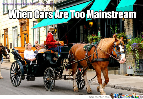 Horse Drawn Carriage By Yummyairplane Meme Center