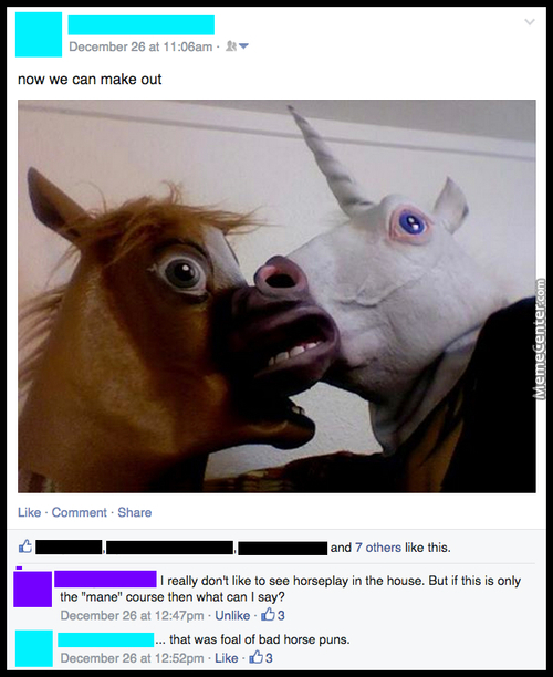 Horse Shit And Unicorny Puns For Your Night-Mares