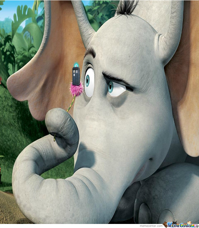 Horton Hears A Doctor Who By Recyclebin