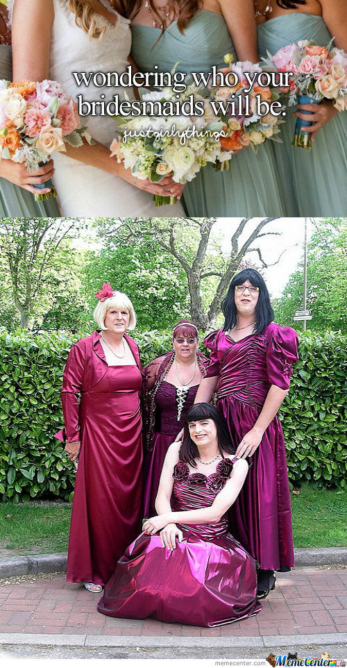 Hot Bridesmaids