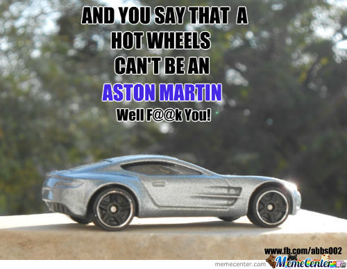 Hot Wheels Aka Aston Martin