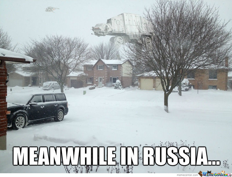 Hoth And Russia? Same Place, I Thought.