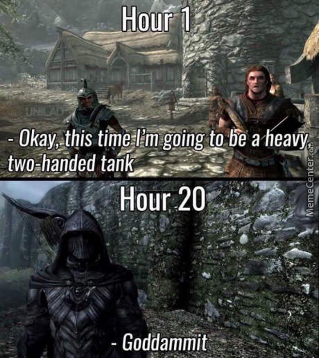 Hour 50 Daedric Armour With Dragonbone Weaponsa Sneaky Tank Is
