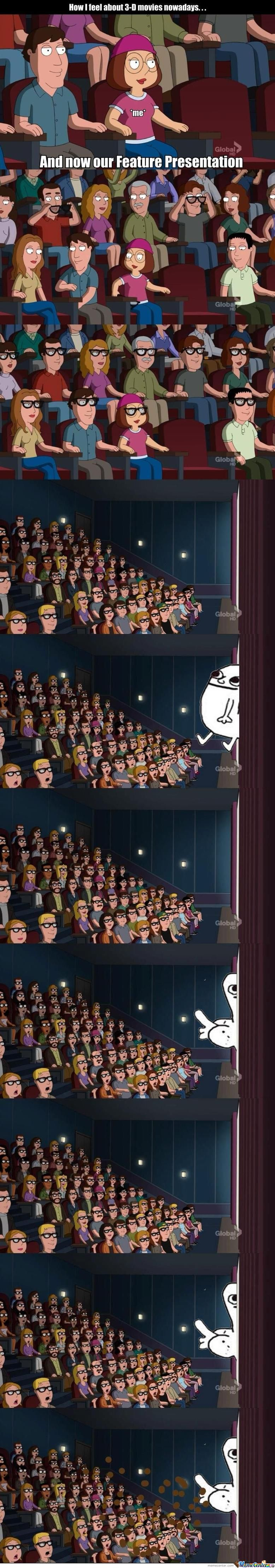 How 3D Movies Actually Are Like...