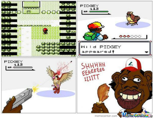 How A Real Black Person Plays Pokemon