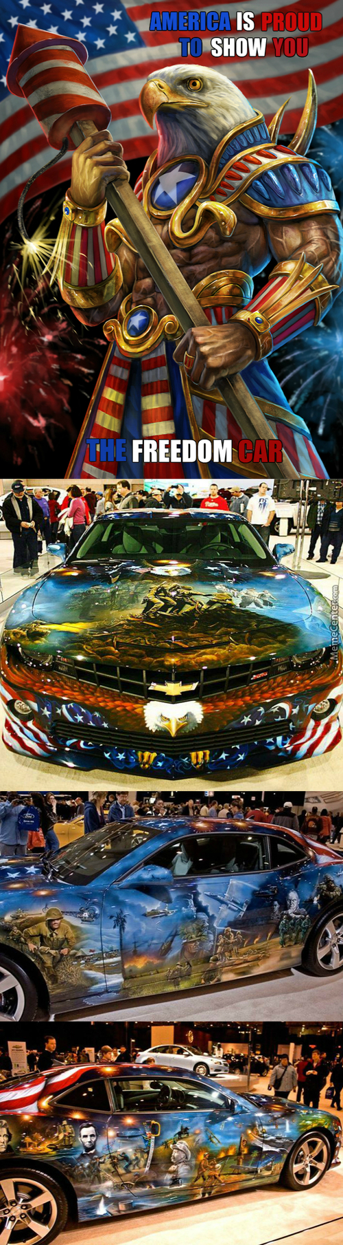How American Ride Their Freedom