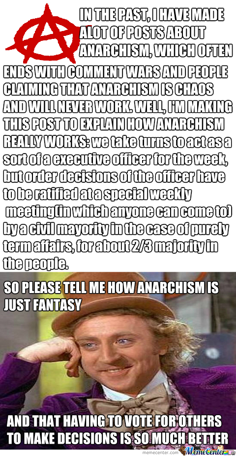 How Anarchism Really Works