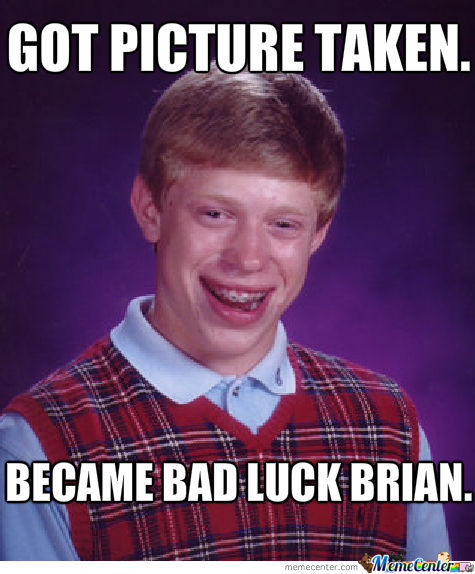 How Bad Luck Brian Became.