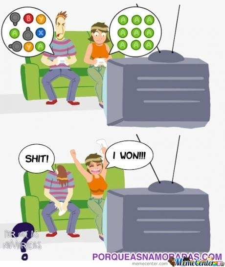 How Boys And Girls Play Video Games By Solsticehaze Meme Center