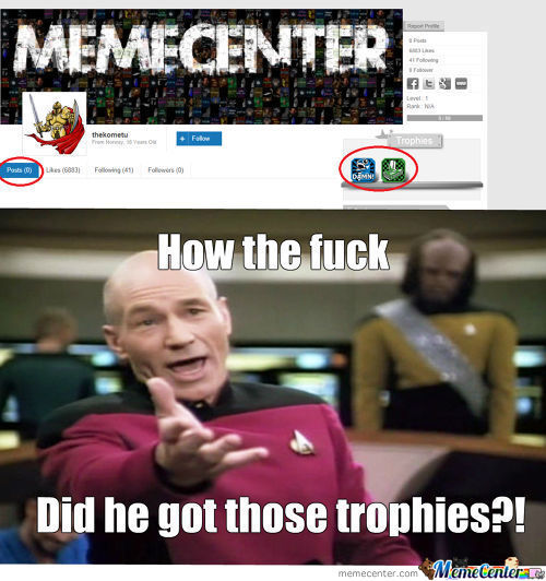 How Did He Got Those Trophies?!