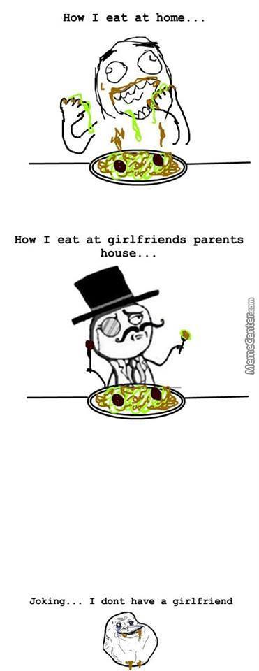 How I Eat At Home