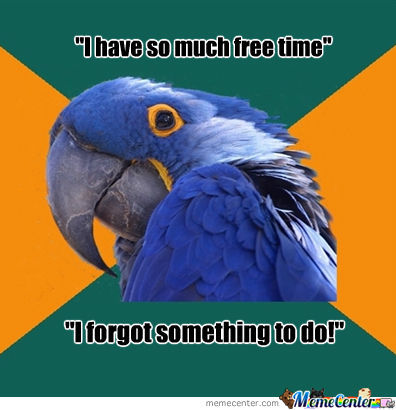 How I Feel About Free Time