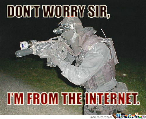 How I Feel When My Dad Yells At My Because He's Having Computer Problems