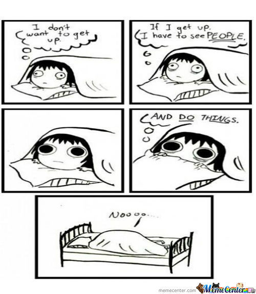How I Fell When I Get Up Every Morning