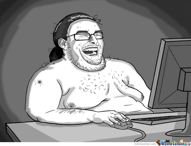How I Picture Half Of The People On Here.