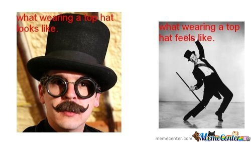 How It Really Is To Wear A Top Hat