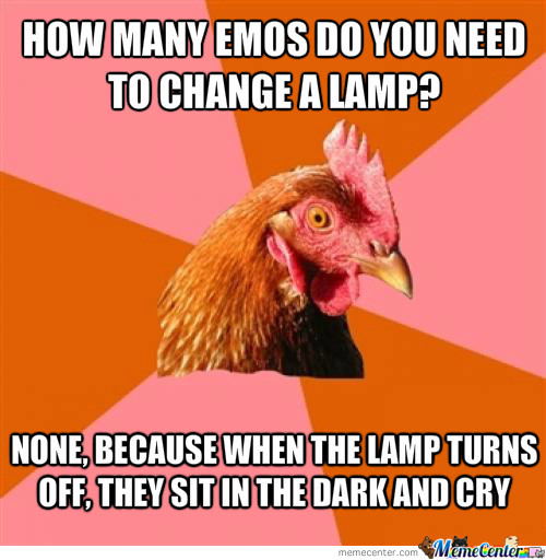 How Many Emos... Wait! Aren't Emos Extincted?