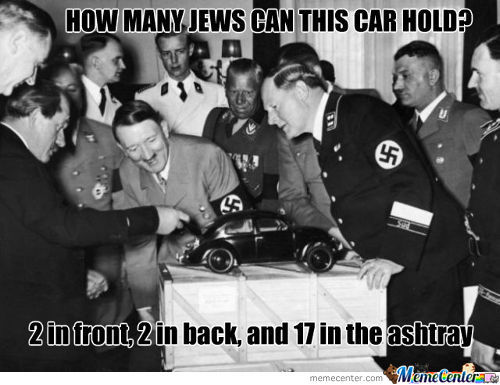 How Many Jews Can This Car Hold?