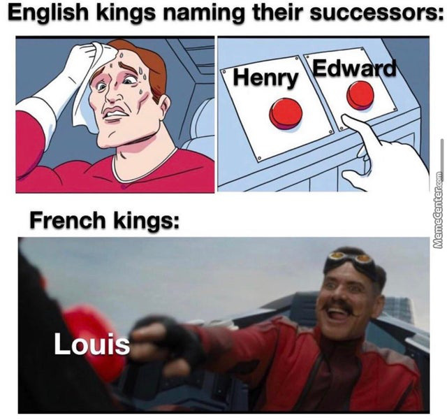How Many Louis Named Ruler You Have? France:yes
