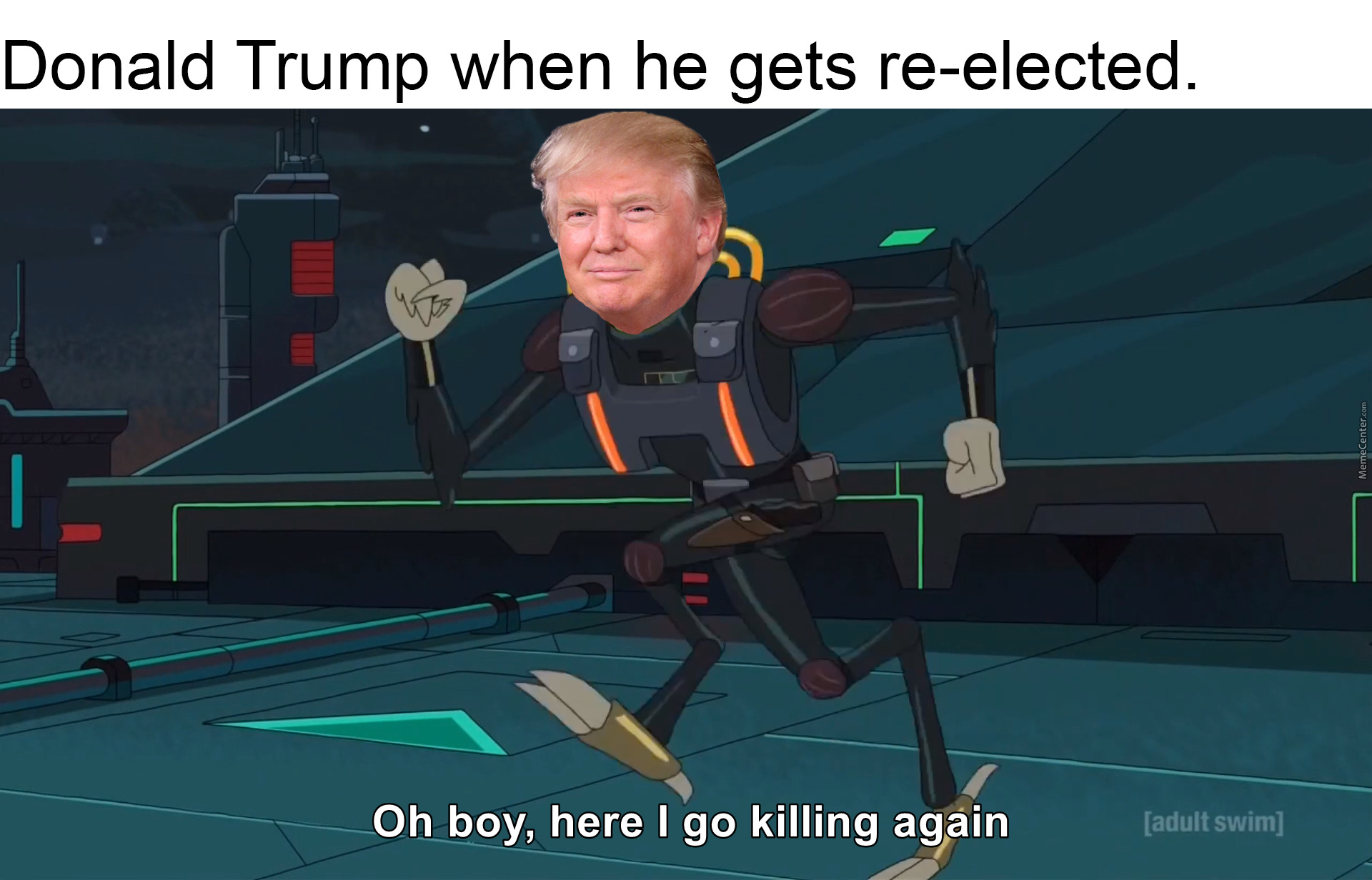 How Much Can He Kill This Time ?